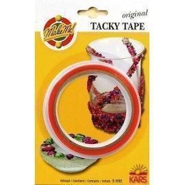 Tacky tape. Cinta de doble cara.