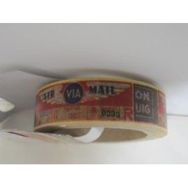 Washi tape: via mail. Cartas