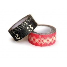 Washi tape: Ruler. 2 pzs.