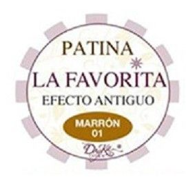 "Pátina ""La Favorita"". Marrón"