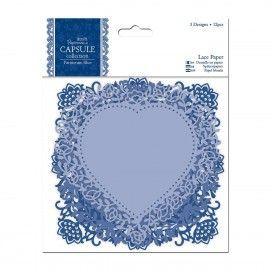 Lace Paper Parisienne Blue