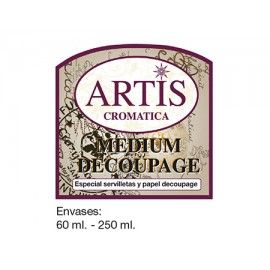 Medium decoupage