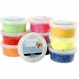 Foam Clay Basic. 10x35gr