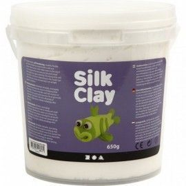 Silk Clay Blanco. 650gr