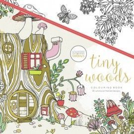 Libro para colorear: Tiny Woods