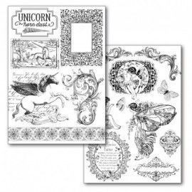 Transfer Paper A4 size B/W - 2 sheets pack Wonderland