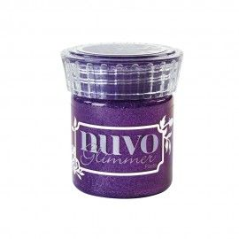 Nuvo Glimmer Paste. Amethyst Purple