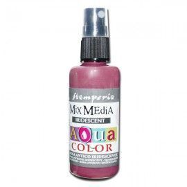 Aquacolor spray. Rosa antiguo. Iridiscente