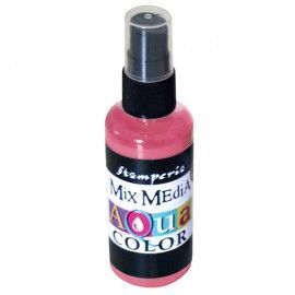 Aquacolor spray . Rosa antiguo