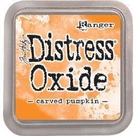 Carved Pumpkin. Distress Oxide Ink. Tim Holtz Ranger
