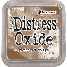 Gathered Twigs. Distress Oxide Ink. Tim Holtz Ranger